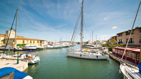 Port Grimaud Stock Photography