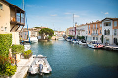 Port Grimaud Stock Images