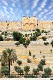 port guld- jerusalem Arkivbild