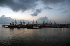 Port Haifa Fotografia Royalty Free