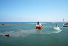 Port Haifa Zdjęcie Royalty Free