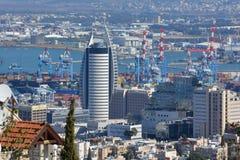Port Haifa Obrazy Stock