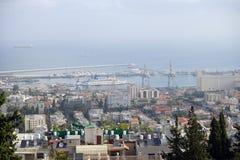 Port Haifa Stock Photos