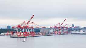 The Port of Halifax Stock Photos