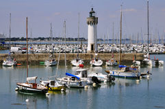Port of Haliguen at Quiberon Royalty Free Stock Photos
