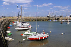 Port of Haliguen at Quiberon in France Stock Photography
