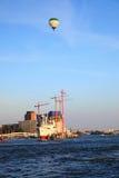 Port in Hamburg. Germany, 2009 Stock Images