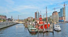 Port of Hamburg Stock Photography