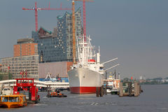 Port of Hamburg Stock Image