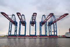 Port of Hamburg Stock Photography