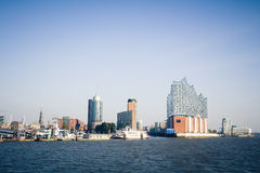 Port of Hamburg Royalty Free Stock Photo