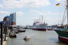 Port of Hamburg Germany Royalty Free Stock Photography