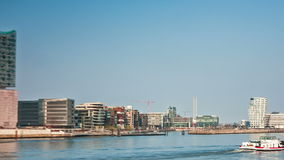 Port of Hamburg Hyper Lapse stock footage