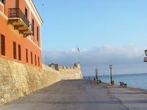 Port of hania Royalty Free Stock Photography