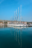 Port (harbour) in Trogir Stock Photography