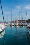 Port (harbour) in Trogir Stock Image