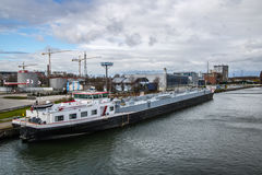 Port Hasselt, Belgia Fotografia Royalty Free