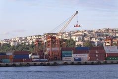 Port of Haydarpasa Royalty Free Stock Photos