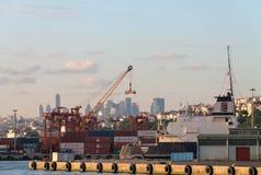 Port of Haydarpasa Stock Photo