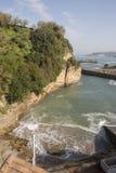 Port and Headland, Biarritz Royalty Free Stock Photos