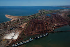 Port Hedland - Australie Photos libres de droits