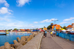 Port of Hel, Poland Stock Photography