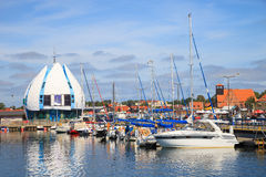 Port of Hel, Poland. Royalty Free Stock Photo