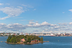 port of Helsinki Royalty Free Stock Photography