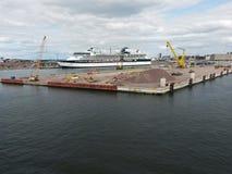 Port of Helsinki Stock Images