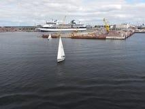 Port of Helsinki Royalty Free Stock Photo