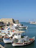 port heraklion Fotografia Royalty Free