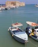Port of Heraklion Royalty Free Stock Photography