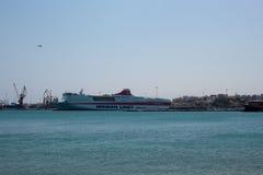 Port of Heraklion Stock Images