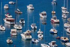 Port in Herceg Novi - Montenegro Royalty Free Stock Photos