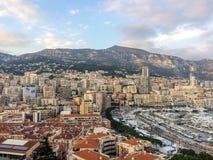 Port Hercule and La Condamine in Monaco Stock Photography