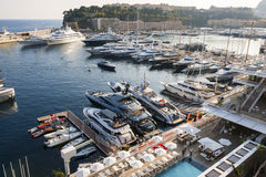 Port Hercule in Monaco Stock Image