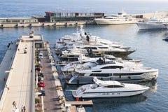Port Hercule in Monaco Royalty Free Stock Images