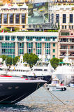 Port Hercule at the track, Formula 1 Royalty Free Stock Photo