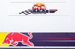 Port Hercule at the track, Formula 1 Stock Photo