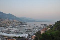 Port Hercule with yachts, Monaco Stock Photography