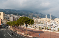 Port Hercules, La Condamine, Monte Carlo in Monaco Stock Images