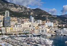 Port Hercules, Monaco Royalty Free Stock Images