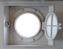 Port hole horizontal Stock Photography