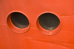 Port-holes Royalty Free Stock Images