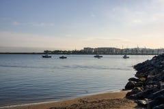 Port Hondarribia obraz stock