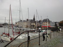 Port of Honfleur, Normandy, France Royalty Free Stock Image