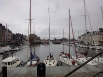 Port of Honfleur, Normandy, France Stock Photography