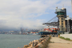 Port of Hong Kong Stock Photo