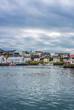 Port of Honningsvag in Finmark, Norway. Stock Photography