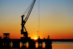 Port of Huelva Stock Photos